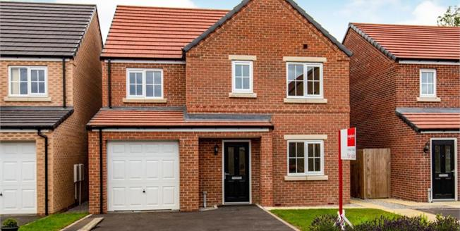 £149,975, 4 Bedroom Detached House For Sale in Morton-On-Swale, DL7