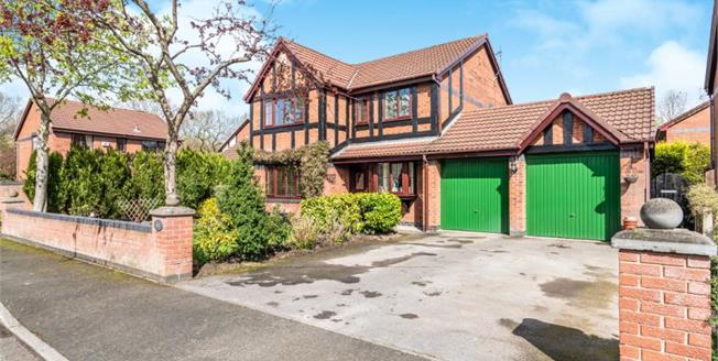 £399,950, 4 Bedroom Detached House For Sale in Great Sankey, WA5