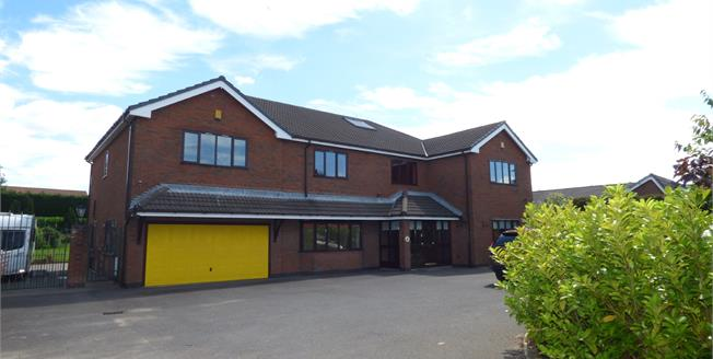 Asking Price £750,000, 5 Bedroom Detached House For Sale in Great Sankey, WA5