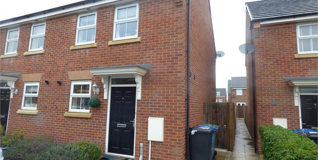 Offers Over £150,000, 2 Bedroom Semi Detached House For Sale in Great Sankey, WA5