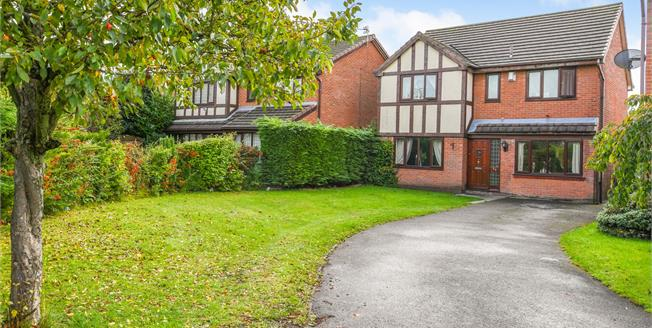 Asking Price £245,000, 4 Bedroom Detached House For Sale in Callands, WA5