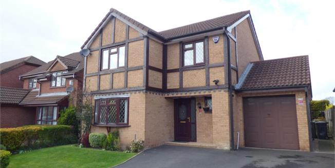 Asking Price £280,000, 4 Bedroom Detached House For Sale in Great Sankey, WA5