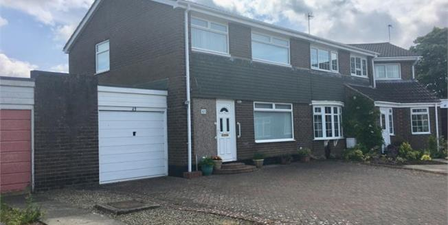 Offers in excess of £190,000, 3 Bedroom Semi Detached House For Sale in Ponteland, NE20