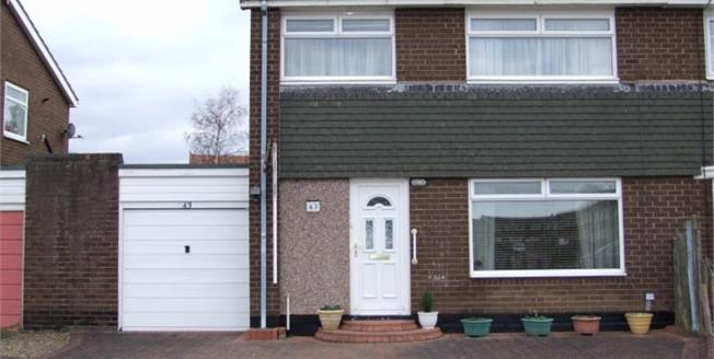 Asking Price £210,000, 3 Bedroom Semi Detached House For Sale in Ponteland, NE20