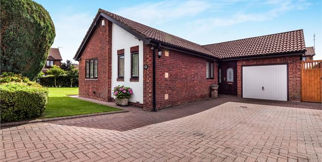 Offers in excess of £350,000, 3 Bedroom Detached Bungalow For Sale in Cramlington, NE23