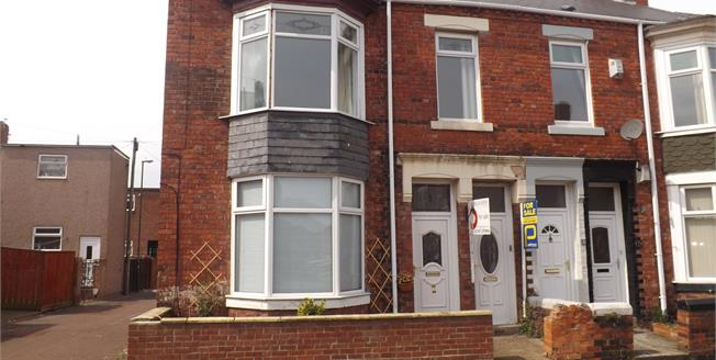 Fixed Price £75,000, 2 Bedroom Upper Floor Flat For Sale in South Shields, NE33