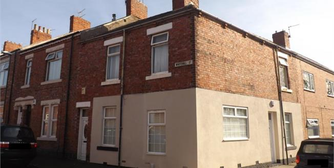 Guide Price £50,000, 2 Bedroom End of Terrace Flat For Sale in South Shields, NE33