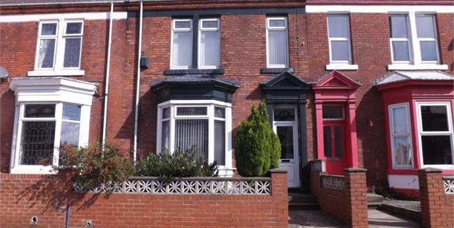 £155,000, 4 Bedroom Terraced House For Sale in South Shields, NE33