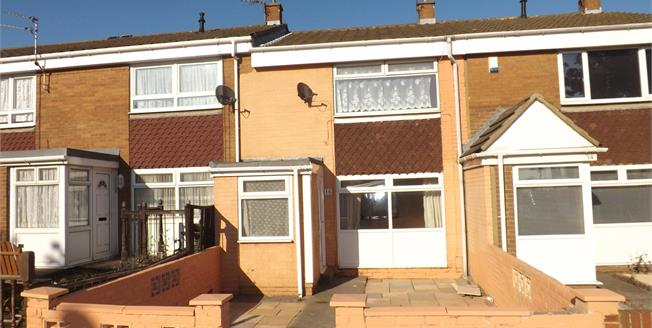 Offers Over £50,000, 2 Bedroom Terraced House For Sale in South Shields, NE33