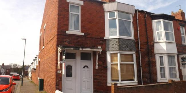 Asking Price £74,950, 3 Bedroom End of Terrace Flat For Sale in South Shields, NE34