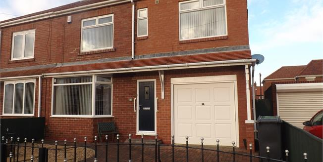 Offers Over £165,000, 3 Bedroom Semi Detached House For Sale in South Shields, NE34