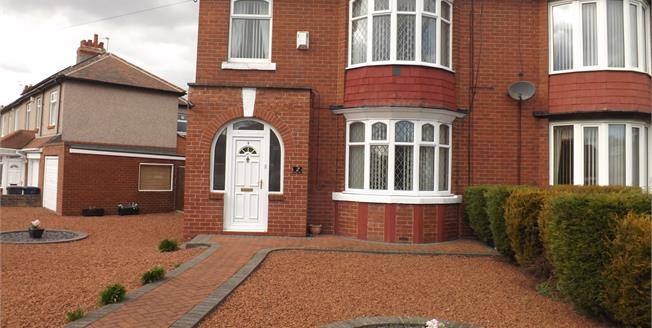 Asking Price £244,950, 3 Bedroom Semi Detached House For Sale in South Shields, NE34