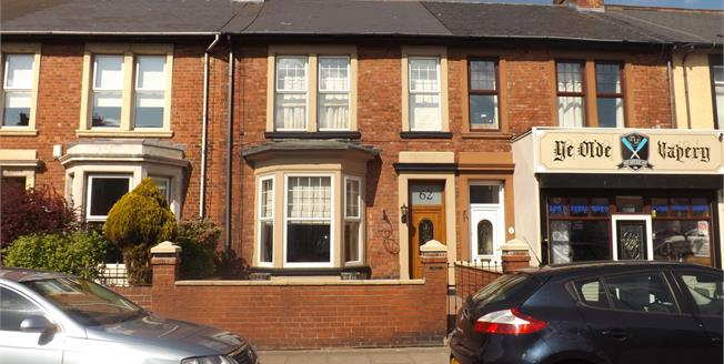 Offers Over £160,000, 3 Bedroom Terraced House For Sale in South Shields, NE33