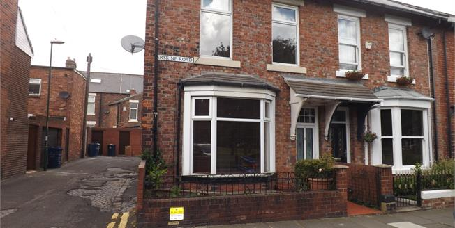Asking Price £140,000, 2 Bedroom End of Terrace House For Sale in South Shields, NE33