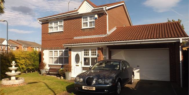 Offers in the region of £345,000, 4 Bedroom Detached House For Sale in East Boldon, NE36