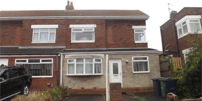 Offers Over £170,000, 3 Bedroom Semi Detached House For Sale in South Shields, NE33