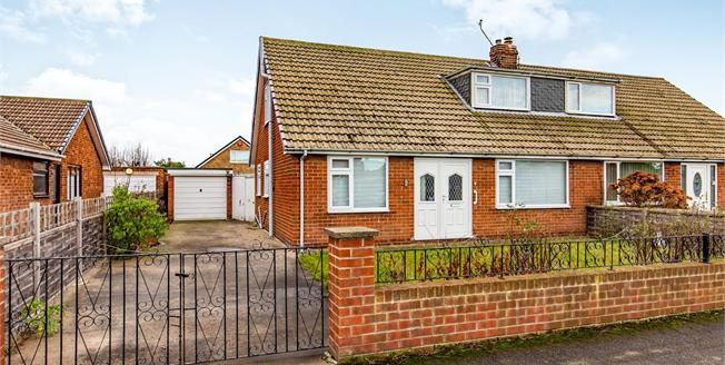 Offers Over £120,000, 3 Bedroom Semi Detached Bungalow For Sale in Redcar, TS10