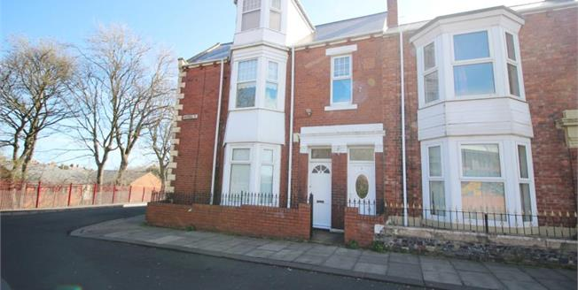 £70,000, 3 Bedroom Ground Floor Flat For Sale in South Shields, NE33