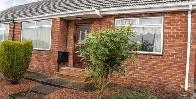 Guide Price £115,000, 2 Bedroom Semi Detached Bungalow For Sale in Houghton Le Spring, DH4