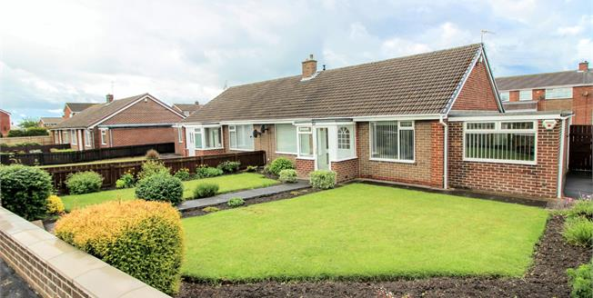 Offers Over £155,000, 2 Bedroom Semi Detached Bungalow For Sale in Houghton Le Spring, DH4