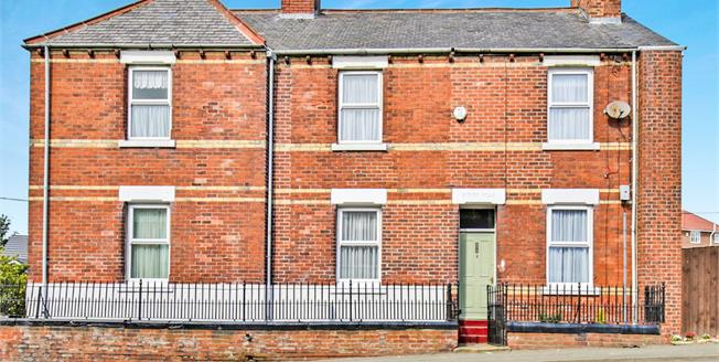 Asking Price £80,000, 2 Bedroom Semi Detached House For Sale in Tyne and Wear, DH4