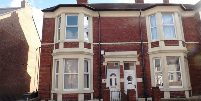 Asking Price £95,000, 2 Bedroom Ground Floor Flat For Sale in North Shields, NE30