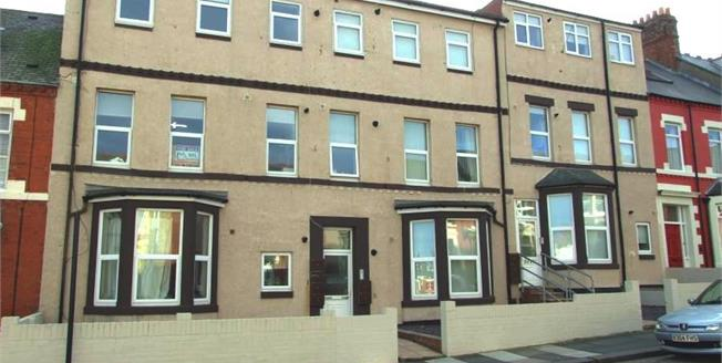Offers Over £112,500, 2 Bedroom Upper Floor Flat For Sale in Whitley Bay, NE26