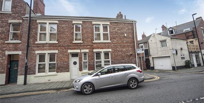 Offers Over £145,000, 2 Bedroom End of Terrace House For Sale in Whitley Bay, NE26