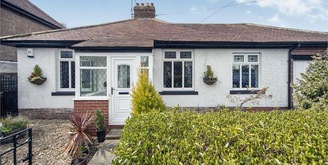 Guide Price £285,000, 2 Bedroom Detached Bungalow For Sale in Wellfield, NE25