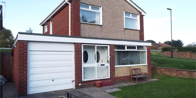 £170,000, 3 Bedroom Detached House For Sale in North Shields, NE29