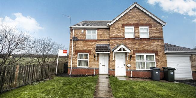 Guide Price £100,000, 2 Bedroom Semi Detached House For Sale in Percy Main, NE29