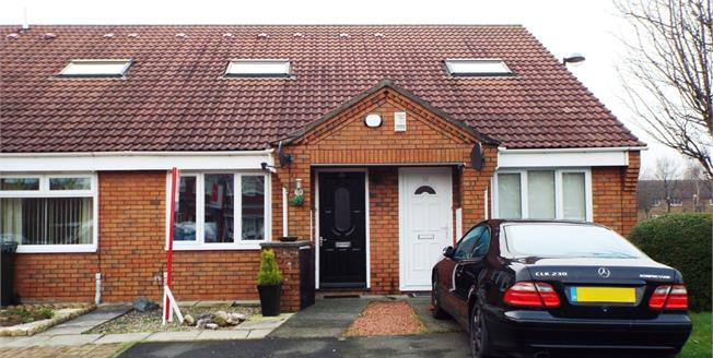 Guide Price £75,000, 1 Bedroom Terraced Bungalow For Sale in North Shields, NE29