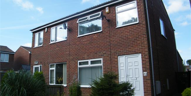 Guide Price £170,000, 2 Bedroom Semi Detached House For Sale in Whitby, YO21