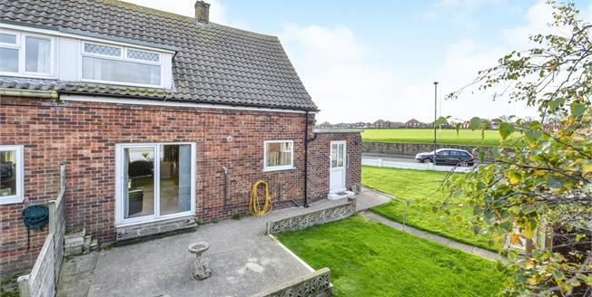 Guide Price £169,950, 2 Bedroom Semi Detached House For Sale in Whitby, YO21