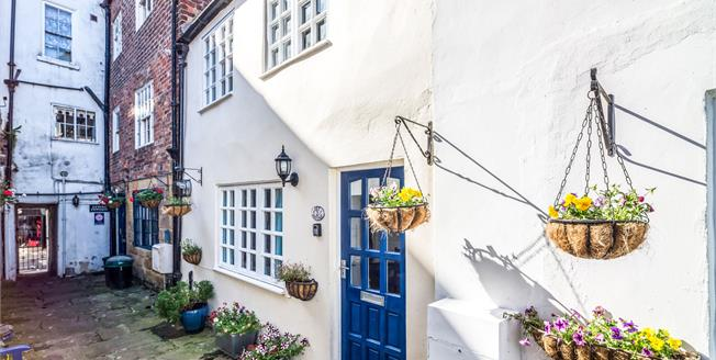 Guide Price £205,000, 2 Bedroom Terraced House For Sale in Whitby, YO21
