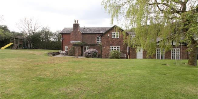 £695,000, 4 Bedroom Detached House For Sale in Over Alderley, SK10