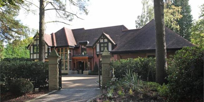 Offers in the region of £3,200,000, 5 Bedroom Detached House For Sale in Prestbury, SK10