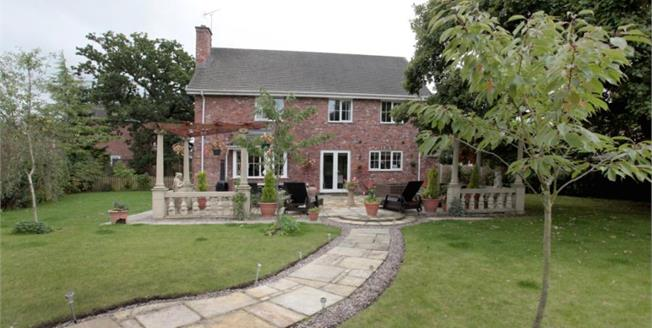 Offers Over £575,000, 5 Bedroom Detached House For Sale in Macclesfield, SK10