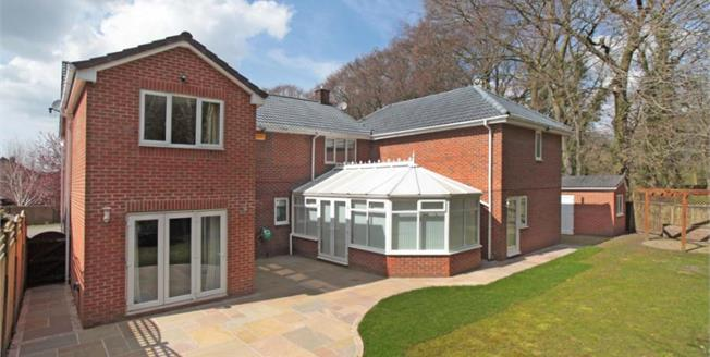 Offers in the region of £625,000, 5 Bedroom Detached House For Sale in Macclesfield, SK10