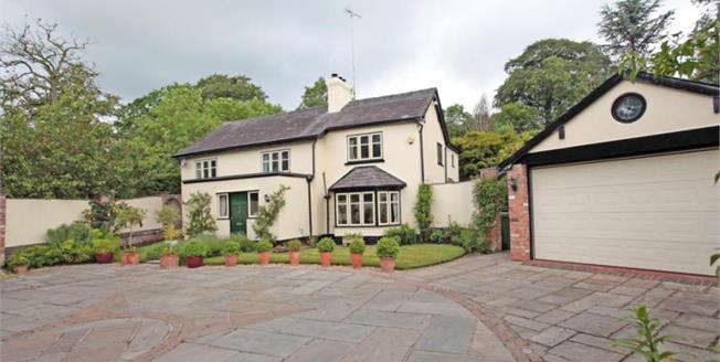 Guide Price £750,000, 4 Bedroom Detached House For Sale in Over Alderley, SK10