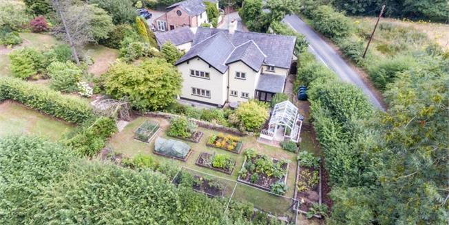 Offers Over £700,000, 4 Bedroom Detached House For Sale in Over Alderley, SK10