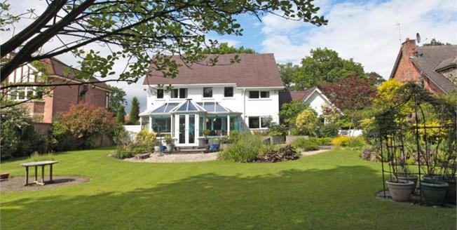 Guide Price £885,000, 3 Bedroom Detached House For Sale in Prestbury, SK10