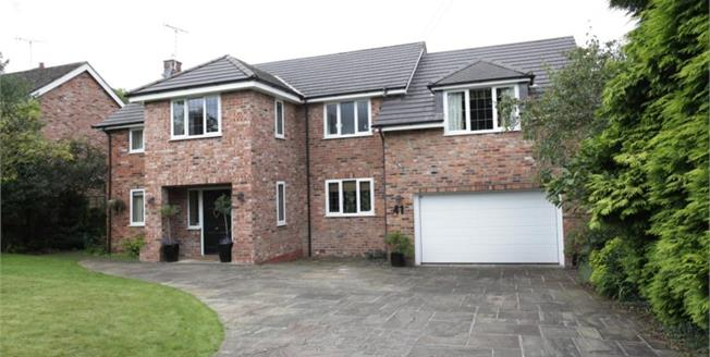 £895,000, 4 Bedroom Detached House For Sale in Prestbury, SK10