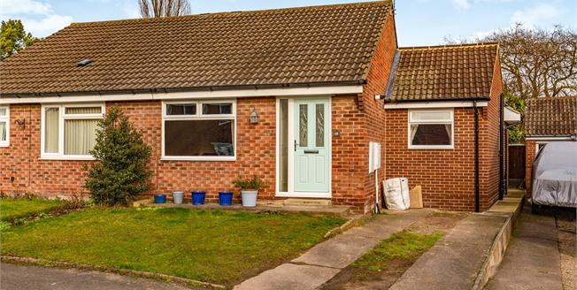 Offers in the region of £145,000, 2 Bedroom Semi Detached Bungalow For Sale in Stockton-on-Tees, TS19