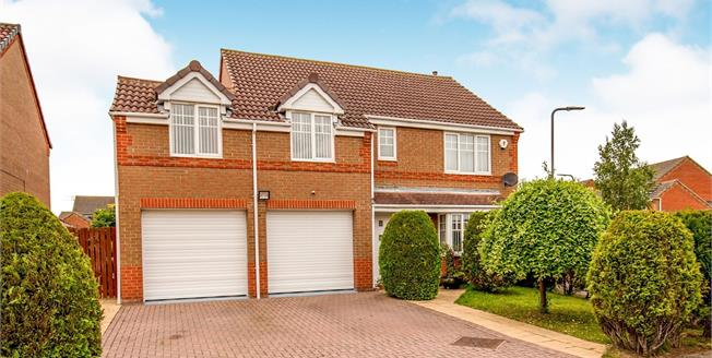 Offers in the region of £327,500, 4 Bedroom Detached House For Sale in Ingleby Barwick, TS17