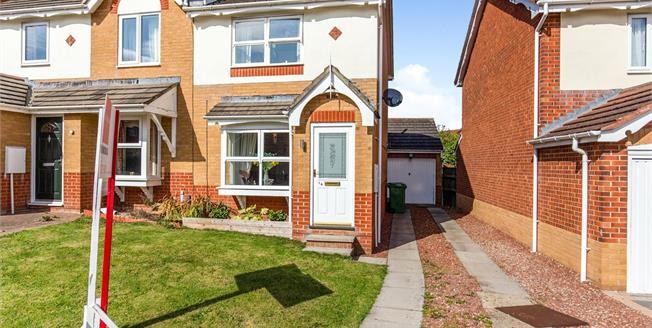 Offers in the region of £119,500, 2 Bedroom Semi Detached House For Sale in Ingleby Barwick, TS17
