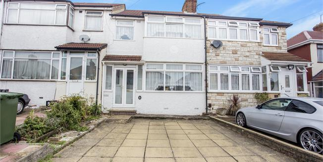 Offers in excess of £475,000, 3 Bedroom Terraced House For Sale in Edgware, HA8