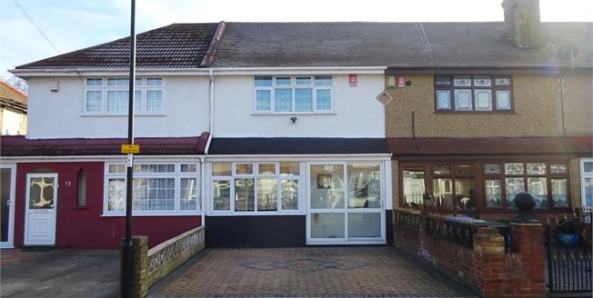 Offers in excess of £375,000, 2 Bedroom Terraced House For Sale in London, N18