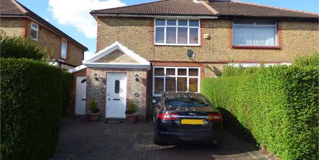 Asking Price £450,000, 3 Bedroom Semi Detached House For Sale in London, N9