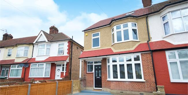 Asking Price £550,000, 4 Bedroom End of Terrace House For Sale in Enfield, EN1